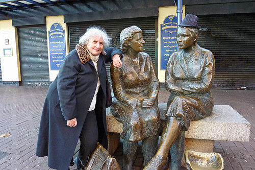 Three women in Dublin
