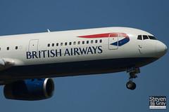 G-BNWD - 24336 - British Airways - Boeing 767-336ER - Heathrow - 100617 - Steven Gray - IMG_4572