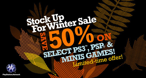 PlayStation Store - Winter Sale