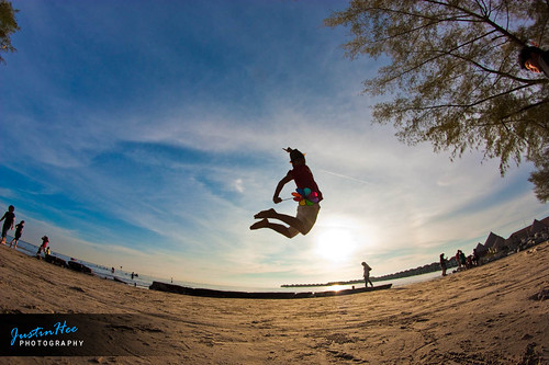 gold coast beach sepang. Sepang Gold Coast Sunset Jump