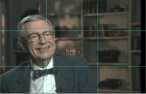 Mr. Rogers Interview -- The rule of Thirds