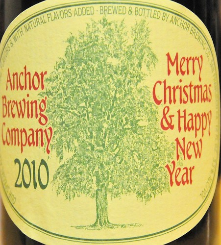 Anchor Brewing 2010 Merry Christmas And Happy New Year Holiday Beer