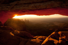 """Mesa Arch"" Utah~Sunrise~Light~Canyonlands~National Park (Dan Ballard Photography) Tags: world pictures bridge red favorite mountain mountains color art dan colors beautiful rock sunrise photography utah nationalpark amazing colorado rocks gallery arch photographer desert photos pics outdoor top canyon best most photographs photograph canyonlands stunning prints moab ballard rays blaze pick overlook mesa gallary photograpy sunstar mesaarch outdoorphotographer coloradophotographer danballard danballardphotography danballardphotogarphy photographyburninghouse raysgod"