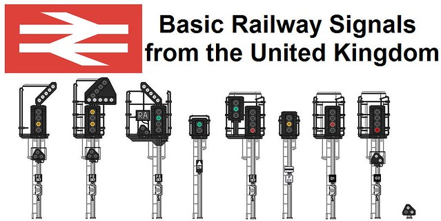 Basic Railway Signals in the UK