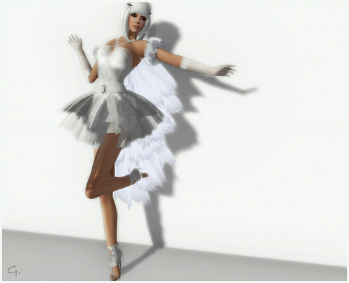 RFyre Winter 2010 - Fantasy Ice Gown