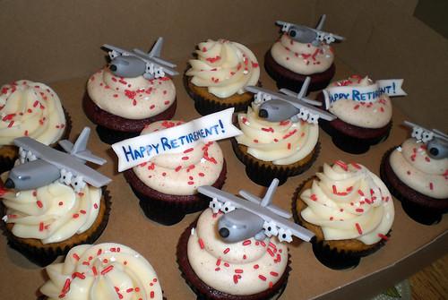 C130 Airplane Cupcakes
