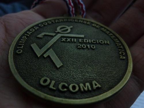 Medalla de Oro Olimpiada Matemática