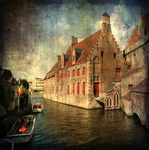 Brügge canal view