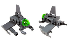 'Poison Arrow' Interceptor (Karf Oohlu) Tags: mos lego frog spaceship interceptor foitsop frogspace frogscale legofrog froglaw empireofthefroglaw