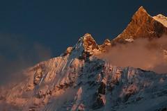 Annapurna Sanctuary (Ziemek T) Tags: nepal hiking himalayas annapurnasanctuary machapuchare