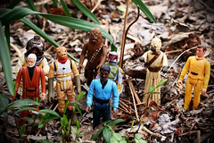 motley crew (Alex!D) Tags: toys actionfigure starwars actionfigures wookie chewbacca