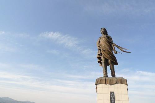 maiden statue