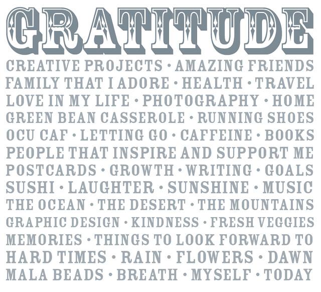 Gratitude 2010