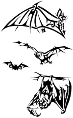 BAT (Black Crown . tribal) Tags: white art branco tattoo illustration design arte bat tribal preto e tatoo desenho morcego designe ilustraao designating arteblack