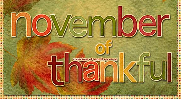 November of Thankful