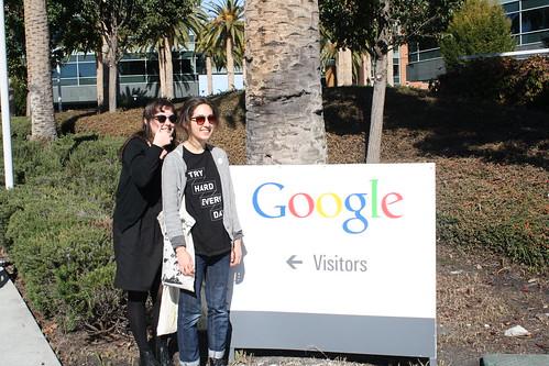 Visiting Google