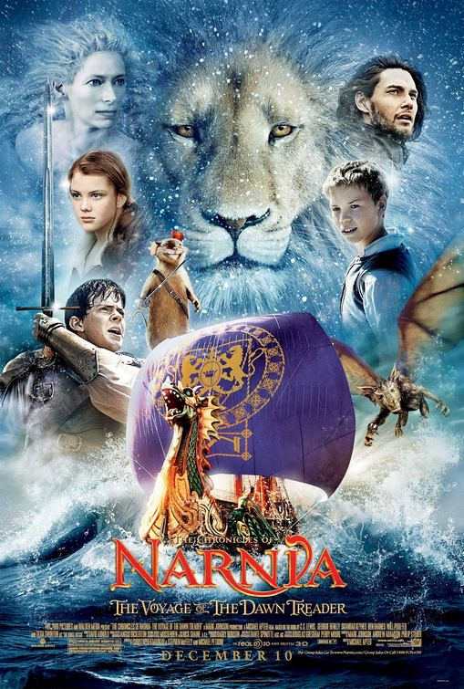 The Chronicles of Narnia The Voyage of the Dawn Treader 2010 movie posters