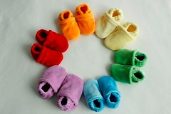 **FREE SHIPPING**  Rainbow of Soft Shoes