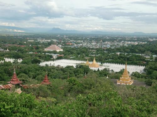 Panorámica de Mandalay.