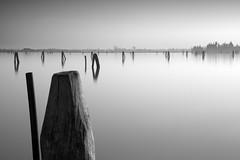 Briccole - Venetian Lagoon (MaggyMorrissey) Tags: venice italy lagoon venetian venezia navigationmarker briccole