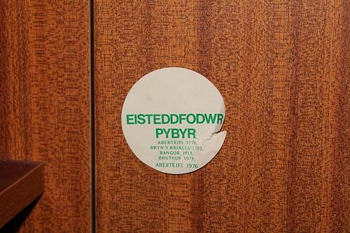 Sticer Eisteddfodwr Pybyr
