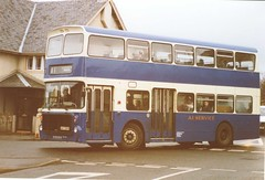 NSP335R (preselected) Tags: bus coach a1 service ardrossan saltcoats volvo ailsa alexander tayside docherty