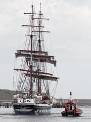 Tall ship (kate&drew) Tags: 2017 july tyne stavrossniarchos tallship sail boat ship pilotboat collingwood launch