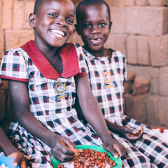 Photo of the Day (Peace Gospel) Tags: children child kids cute adorable smiles smiling smile happy happiness joy joyful peace peaceful hope hopeful radiant loved school uniforms classroom education educate food nutrition mealtime healthy health empowerment empowered empower