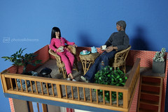 so happy, you're here (photos4dreams) Tags: dolls29062017p4d aaronjohnson toy 16 doll celebrity photos4dreams p4d photos4dreamz toys actor avengers spielzeug actionfigure actionfigur action diorama oneroomappartement dachterrasse rooftop terrace quicksilver angelinajolie
