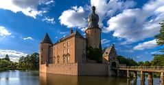Burg Gemen (st.weber71) Tags: burggemen burgen schlösser nrw nikon d800 wasser gebäude wolken himmel architektur borken wasserschloss