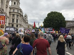 Anti Austerity March, July 2017 (Ian Press Photography) Tags: anti austerity march july 2017 protest protests protester protesters demo demonstration london tory conservative