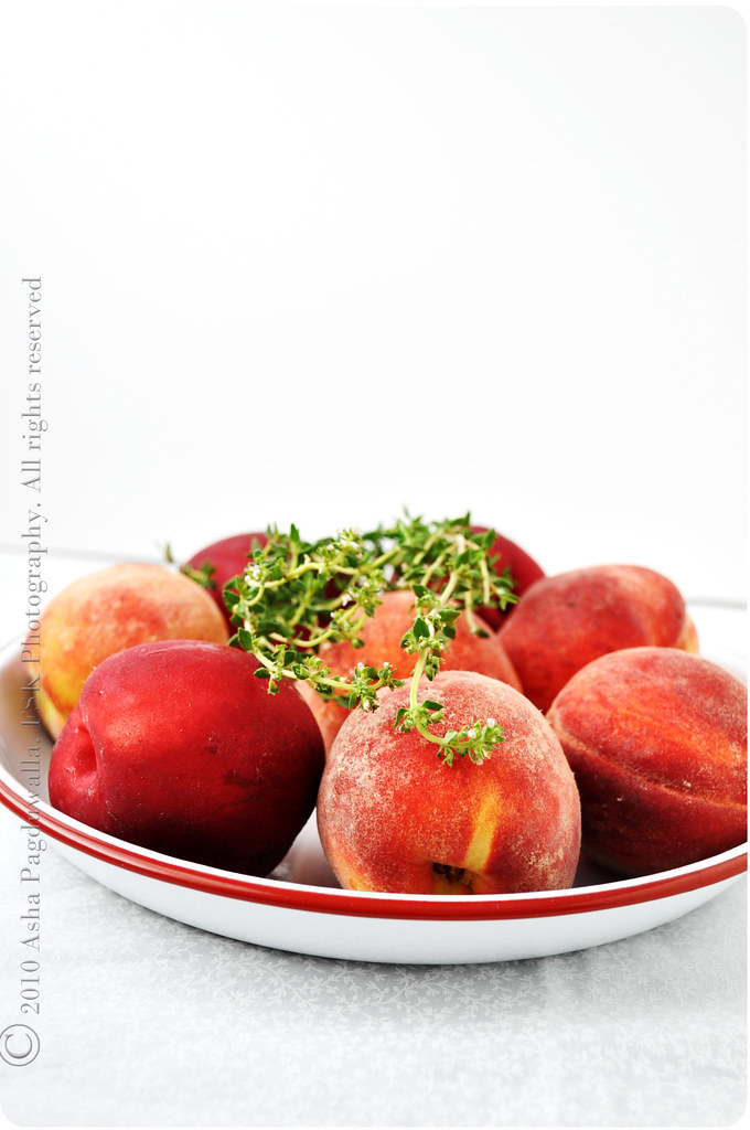 Peaches and Thyme