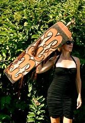 warrior (skintone) Tags: wood green indonesia vegetation warrior remote shield artifact collector memyselfandi newguinea indigenouspeople headhunters tribalart skintone handcarved irianjaya smat shotbymyhusband primoridalrace headhuntersgallerycom