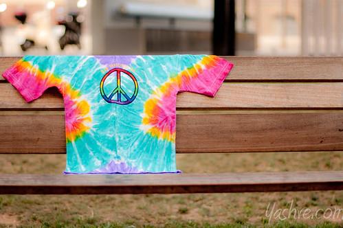 """Rainbow"" Bench"