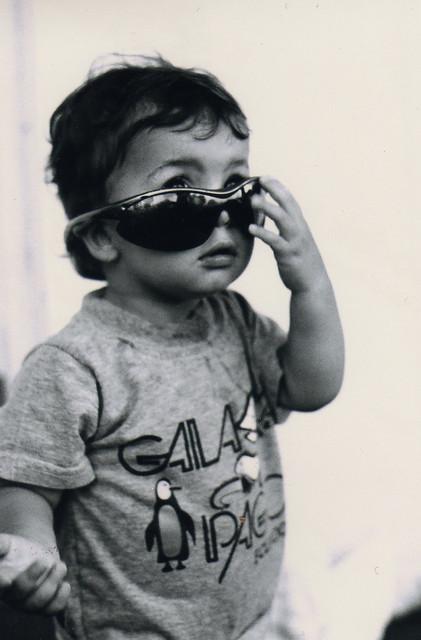 daddy's shades.