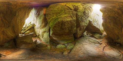 Inside the cave of wonders! - Equirectangular in Duschenay
