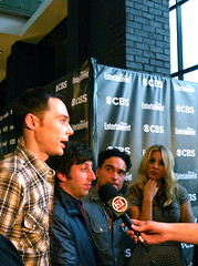 The Big Bang Theory cast (EW/CBS) (MelodyJSandoval) Tags: television sandiego comiccon cbs sdcc entertainmentweekly kaleycuoco jimparsons johnnygalecki simonhelberg thebigbangtheory tbbt kunalnayyar