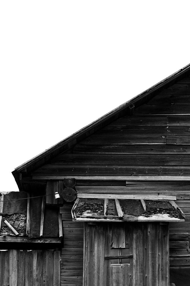 old building in Belozersk, Russia