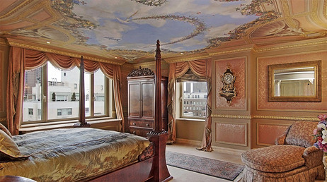 Rush Limbaugh master bedroom