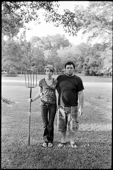 Jessica & Anthony. American Gothic revisited