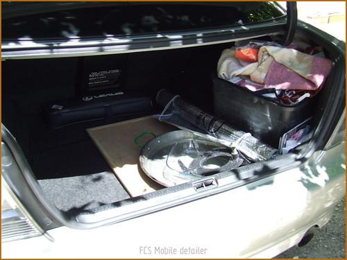 Detallado interior integral Lexus IS200-44