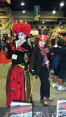 Queen of Hearts & Mad Hatter (Roddenberry) T