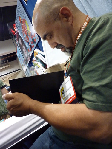 Mario Hernandez - Fantagraphics at Comic-Con 2010