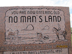 No Man's Land monument (US 64)