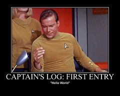 Captain's Log: First Entry