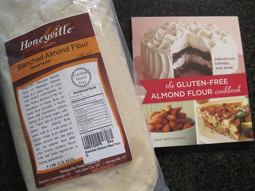 Blanched Almond Flour & The Gluten Free Almond Flour Cookbook