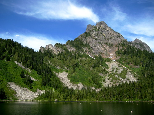 Eagle Lake and Merchant Peak