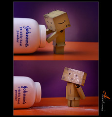 Naughty Danbo [ Explore #6] (ANOODONNA) Tags: naughty explore canonef2470mmf28lusm danbo canoneos50d danboard anoodonna  alanoodalrasheed