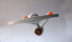 Star Trek Enterprise 8719 (Brechtbug) Tags: show from fiction 1969 television metal trek toy toys star miniature tv die ship space science 1966 adventure cast future scifi series 1960s enterprise saucer federation starship