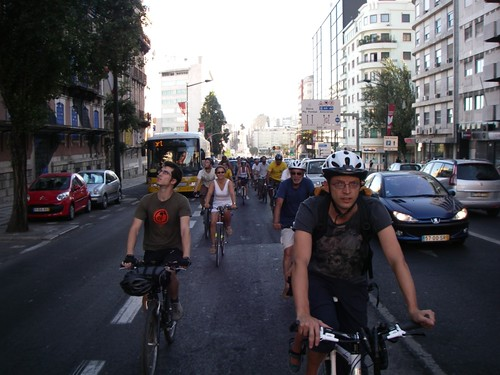 Massa Crítica de Lisboa - Julho 2010